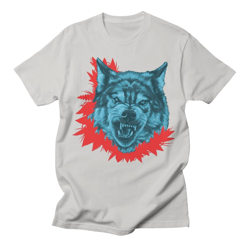 Sabio Lobo Men's T-Shirt by Fedz