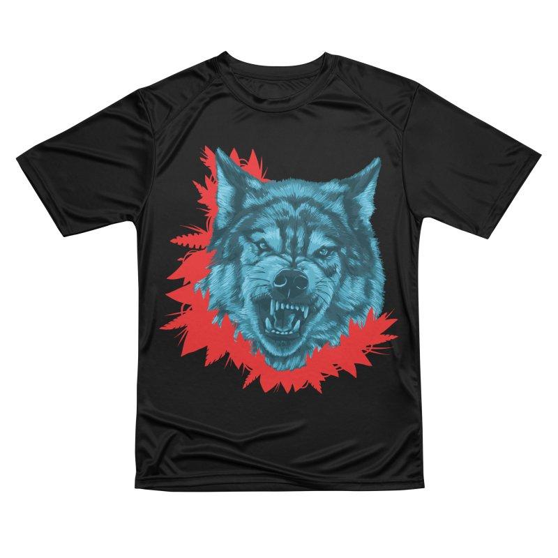 Sabio Lobo Men's Performance T-Shirt by Fedz