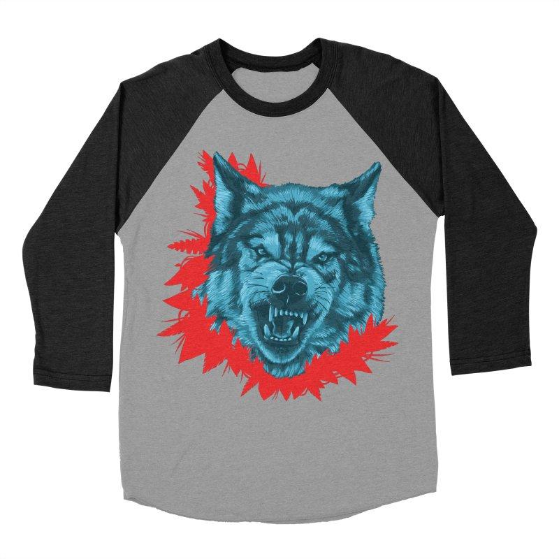 Sabio Lobo Women's Baseball Triblend Longsleeve T-Shirt by Fedz