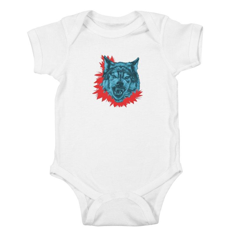 Sabio Lobo Kids Baby Bodysuit by Fedz