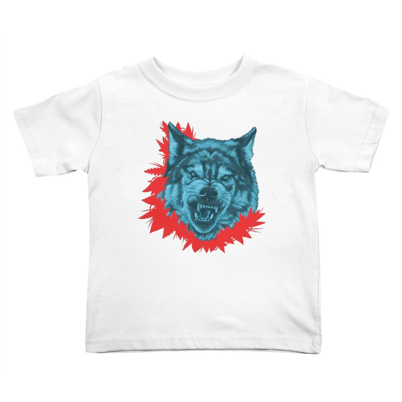 Sabio Lobo Kids Toddler T-Shirt by Fedz
