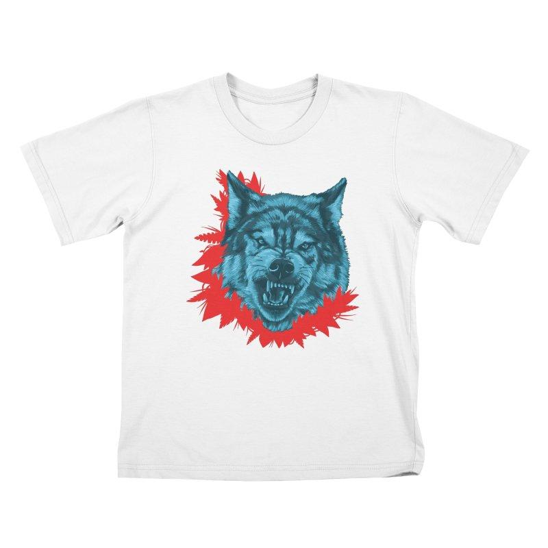 Sabio Lobo Kids T-Shirt by Fedz