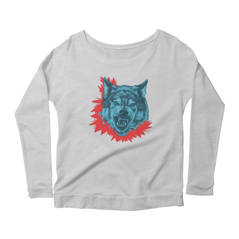 Sabio Lobo Women's Longsleeve T-Shirt by Fedz