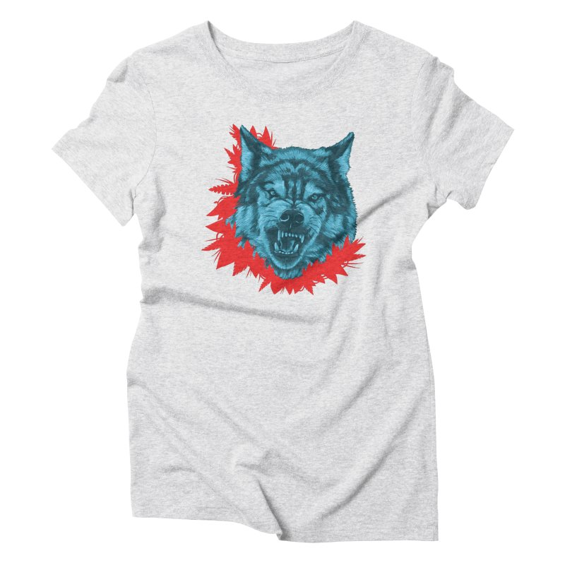 Sabio Lobo Women's Triblend T-Shirt by Fedz