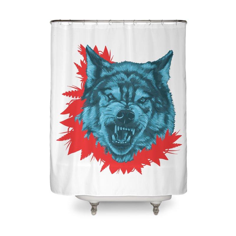 Sabio Lobo Home Shower Curtain by Fedz