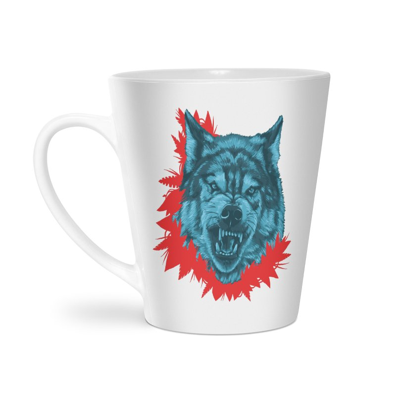 Sabio Lobo Accessories Latte Mug by Fedz