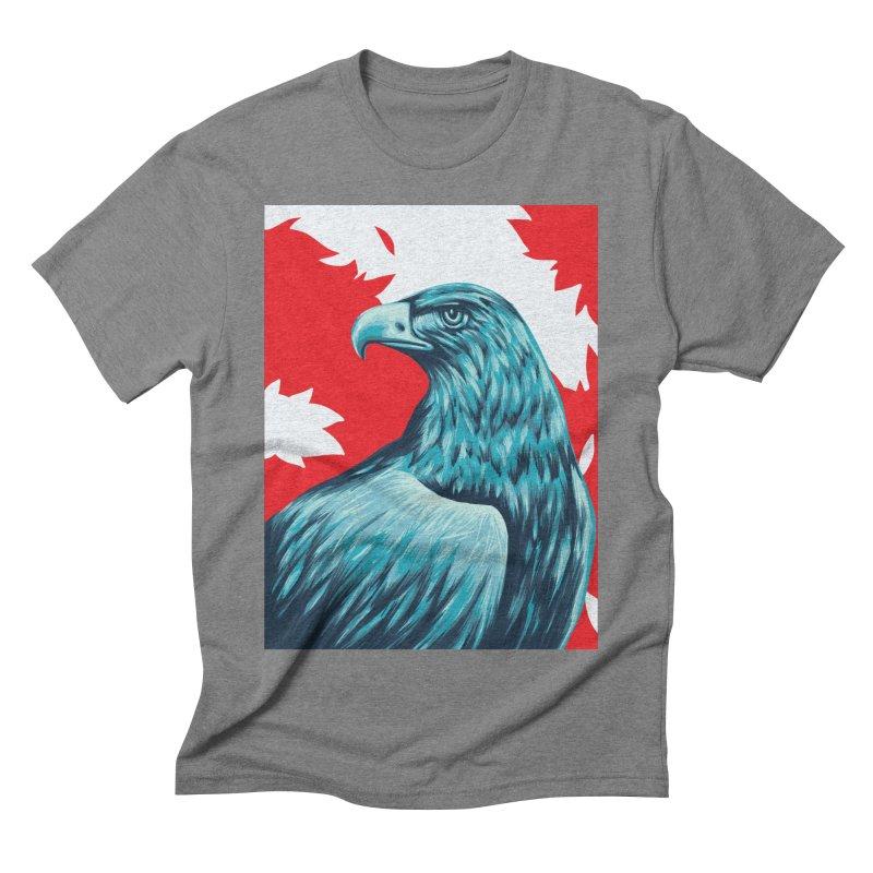La Patria Men's Triblend T-Shirt by Fedz