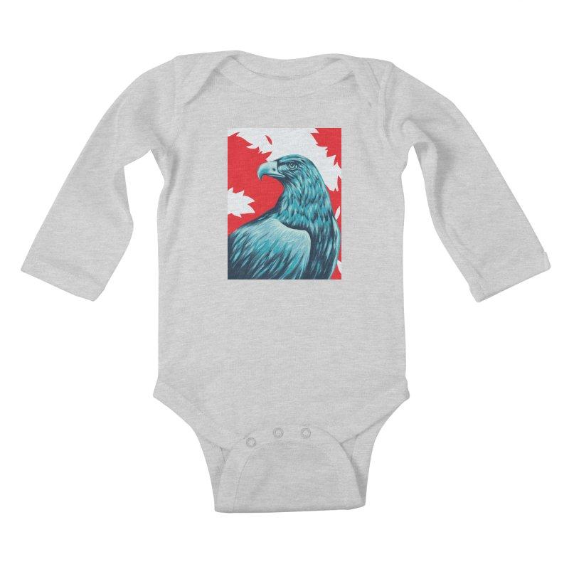 La Patria Kids Baby Longsleeve Bodysuit by Fedz