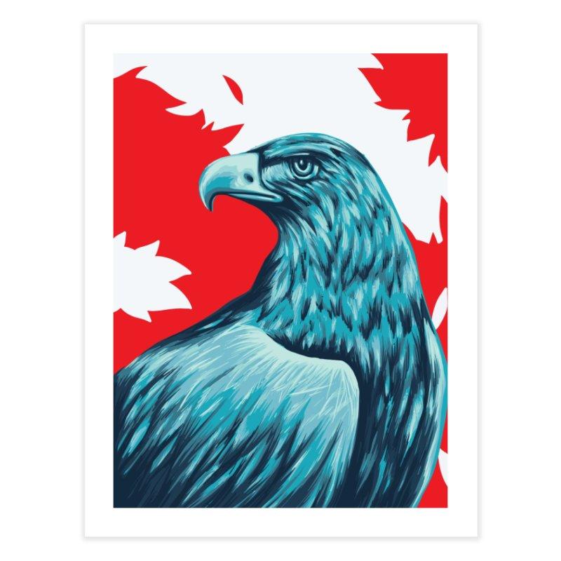 La Patria Home Fine Art Print by Fedz