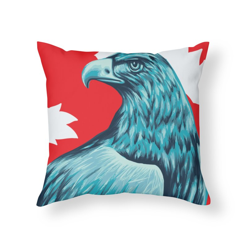 La Patria Home Throw Pillow by Fedz