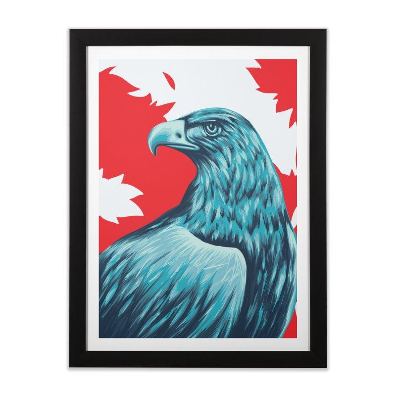 La Patria Home Framed Fine Art Print by Fedz