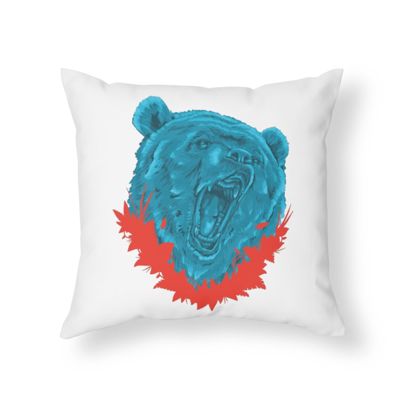 El Guardian Home Throw Pillow by Fedz