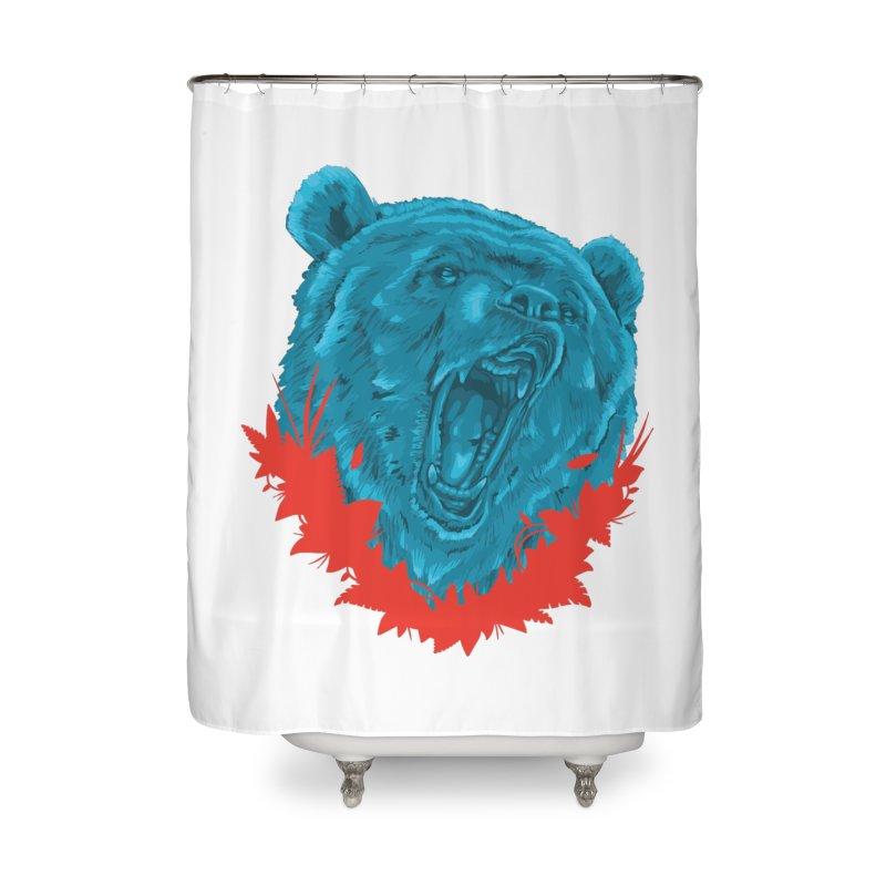 El Guardian Home Shower Curtain by Fedz