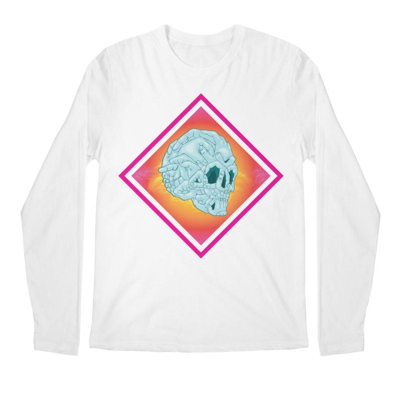 Hands of Death Men's Longsleeve T-Shirt by FEDZart's Artist Shop