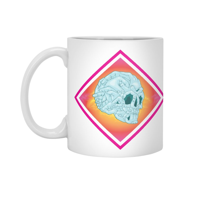 Hands of Death Accessories Mug by FEDZart's Artist Shop