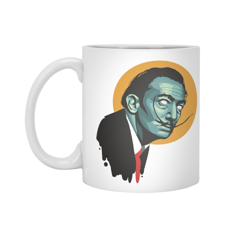 Santo Dali Accessories Mug by FEDZart's Artist Shop