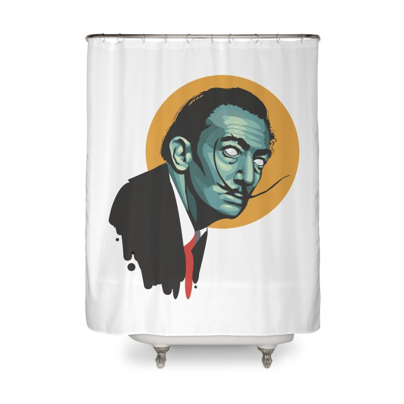Santo Dali Home Shower Curtain by Fedz