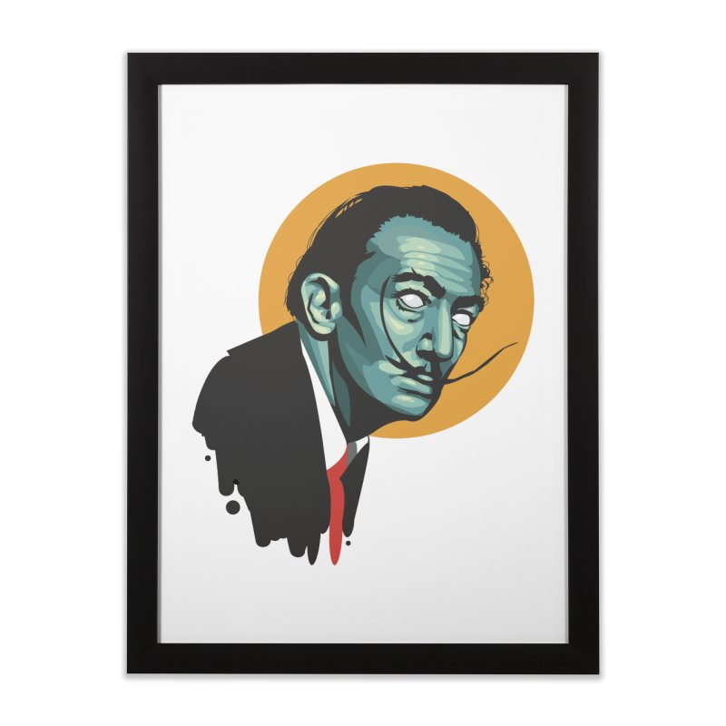 Santo Dali Home Framed Fine Art Print by Fedz