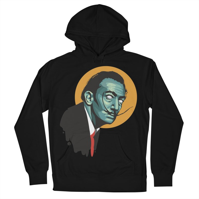 Santo Dali Men's French Terry Pullover Hoody by FEDZart's Artist Shop