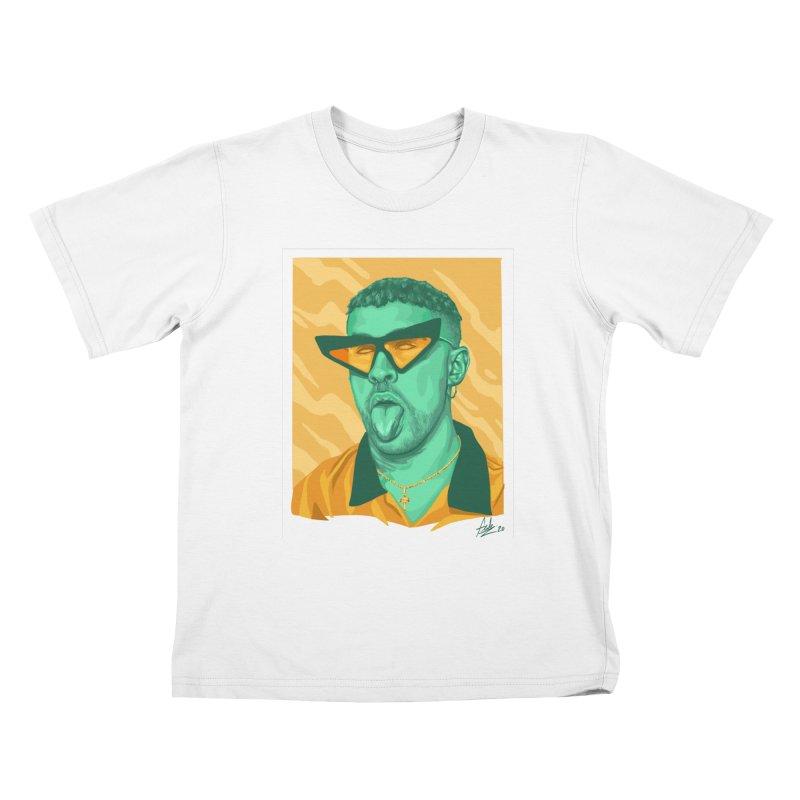 Conejito Malo Kids T-Shirt by Fedz