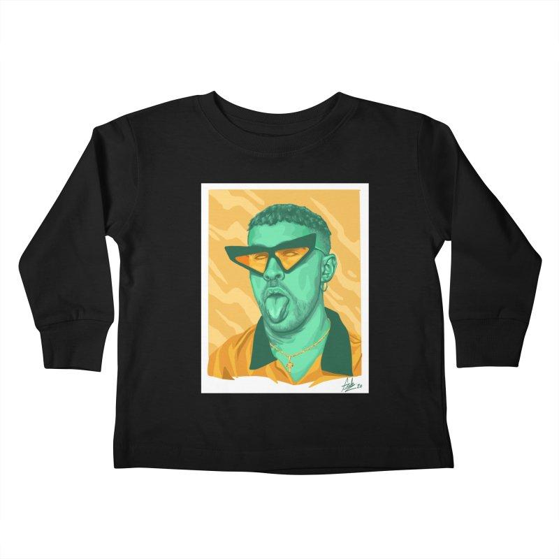 Conejito Malo Kids Toddler Longsleeve T-Shirt by Fedz