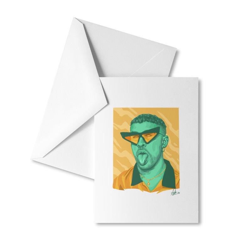 Conejito Malo Accessories Greeting Card by Fedz