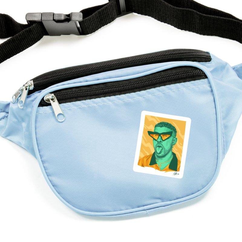 Conejito Malo Accessories Sticker by Fedz