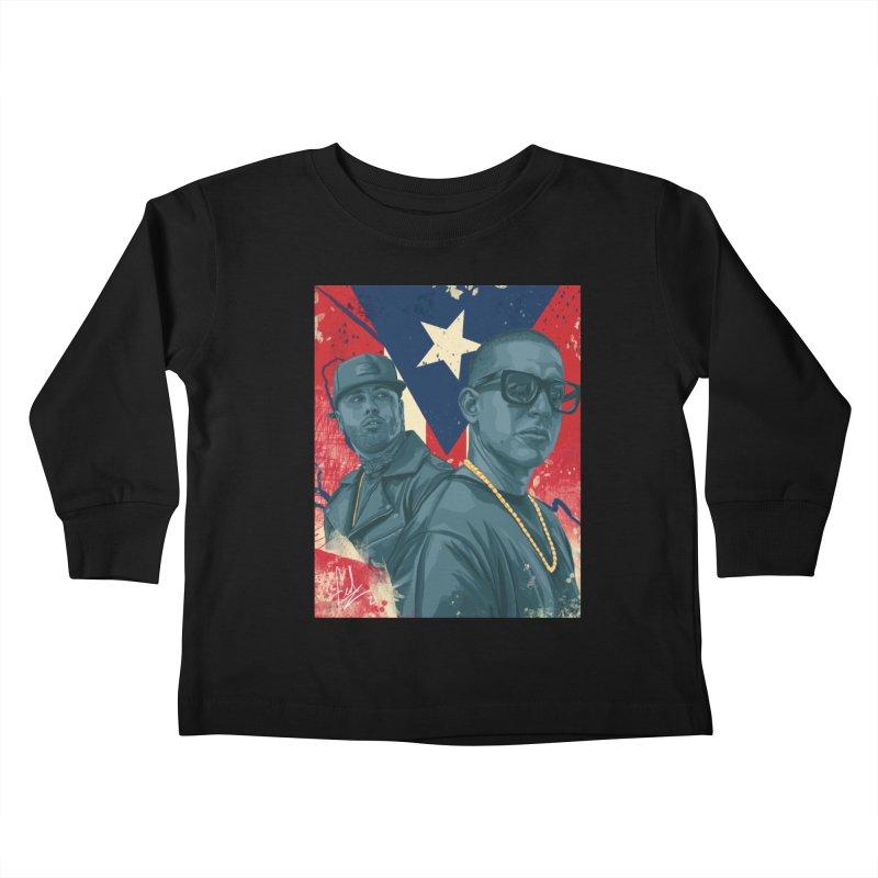 Los Cangris Kids Toddler Longsleeve T-Shirt by Fedz