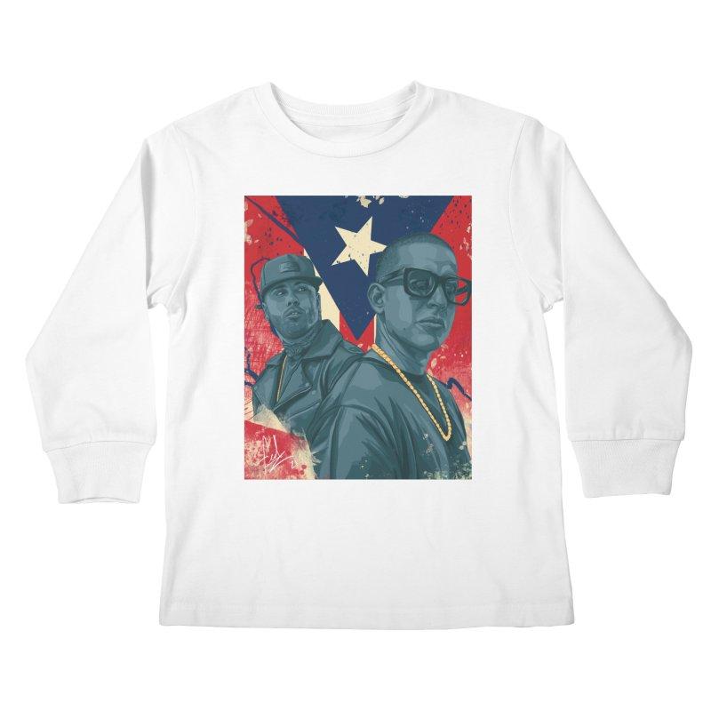 Los Cangris Kids Longsleeve T-Shirt by Fedz