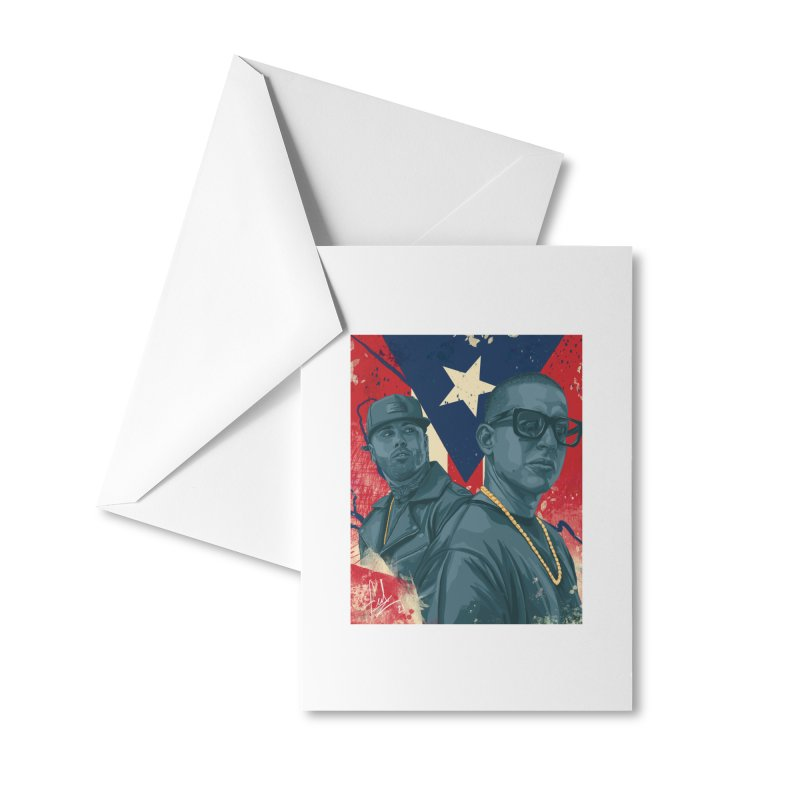 Los Cangris Accessories Greeting Card by Fedz