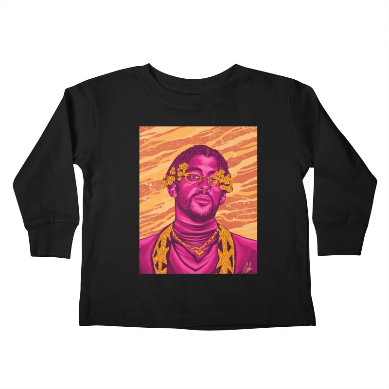 Ultimo Tour Kids Toddler Longsleeve T-Shirt by Fedz