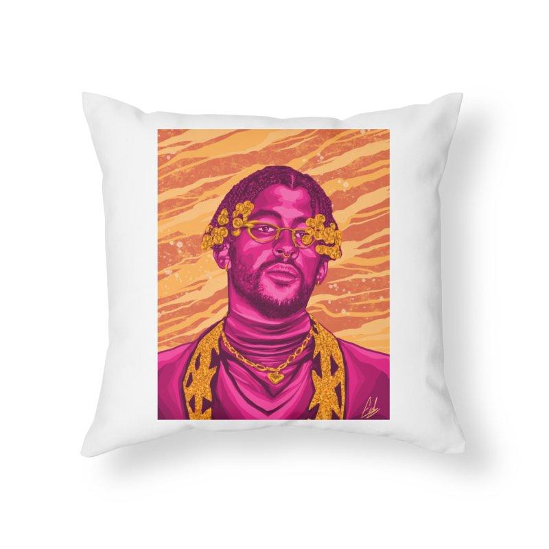 Ultimo Tour Home Throw Pillow by Fedz