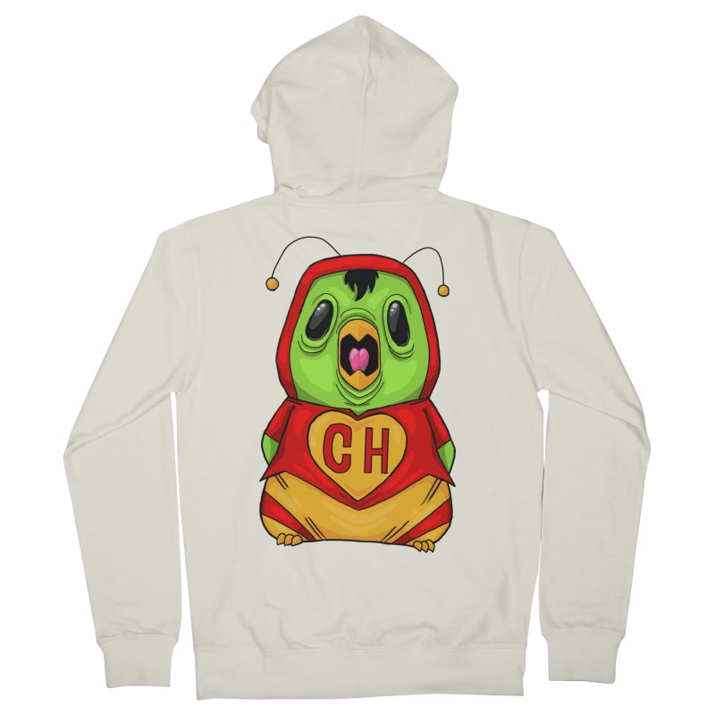 Chapulin birdy Men's French Terry Zip-Up Hoody by Fedz