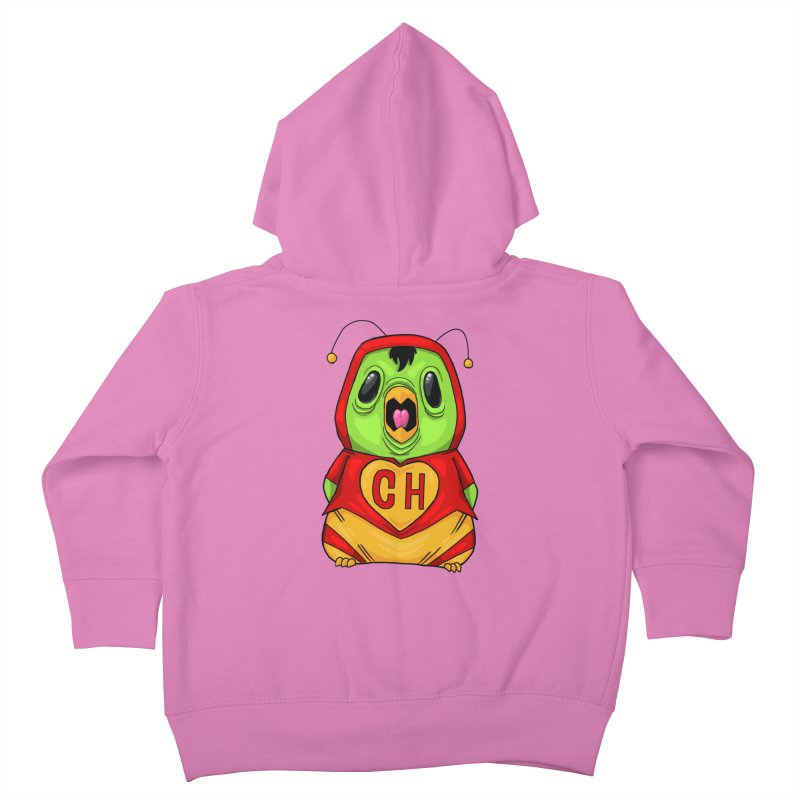 Chapulin birdy Kids Toddler Zip-Up Hoody by Fedz