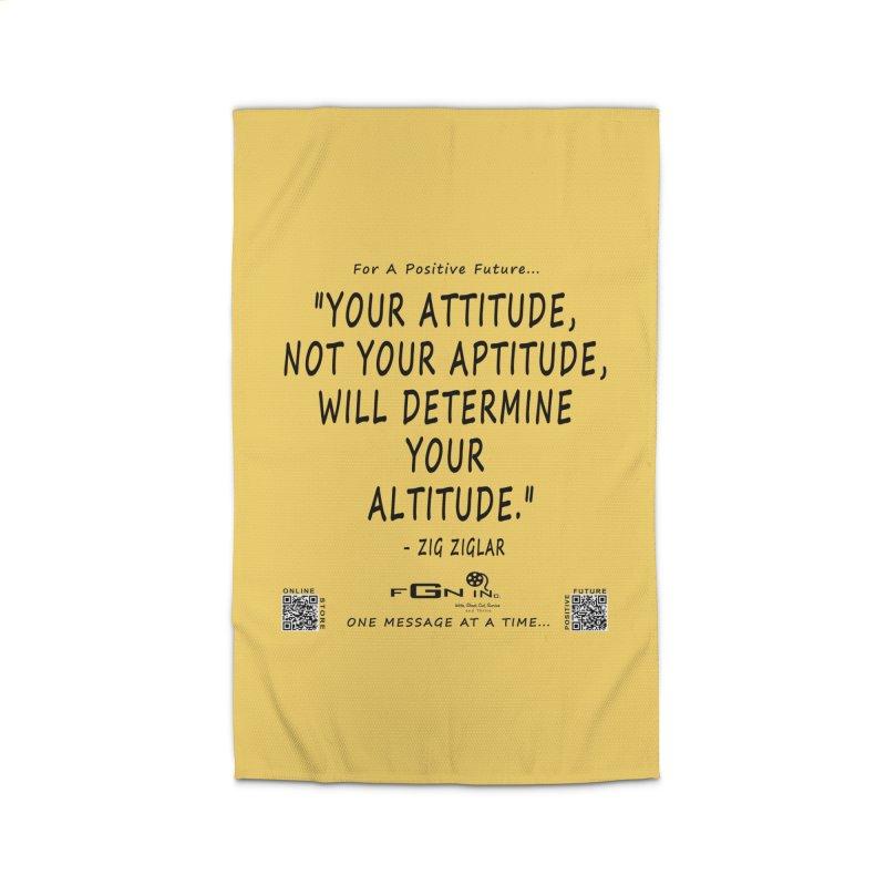 694 - Your Attitude Aptitude Altitude Home Rug by FGN Inc. Online Shop