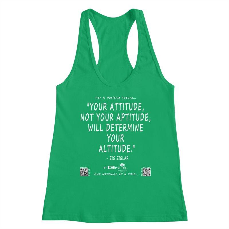 694A - Your Attitude Aptitude Altitude Women's Tank by FGN Inc. Online Shop