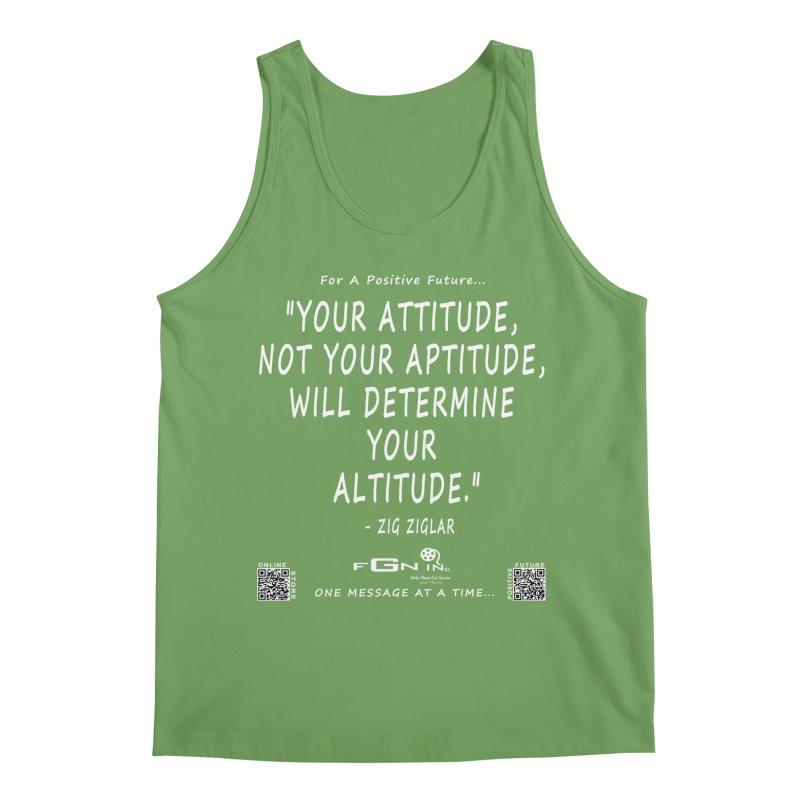 694A - Your Attitude Aptitude Altitude Men's Tank by FGN Inc. Online Shop