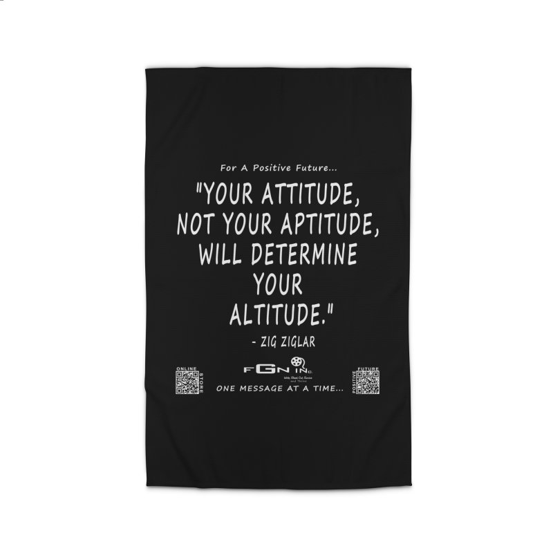 694A - Your Attitude Aptitude Altitude Home Rug by FGN Inc. Online Shop