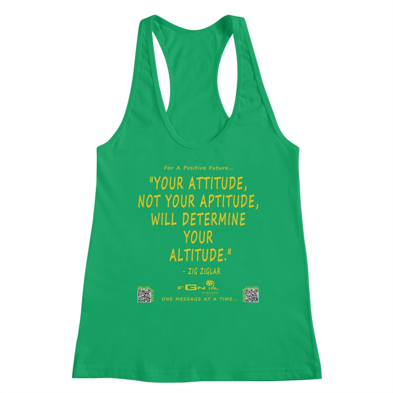 694B - Your Attitude Aptitude Altitude Women's Tank by FGN Inc. Online Shop