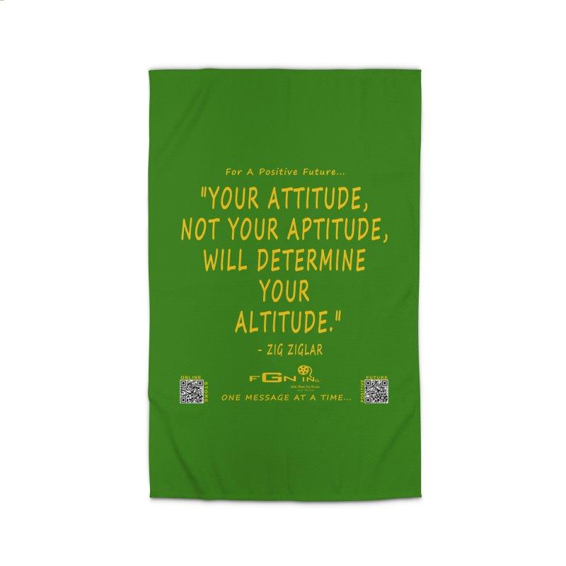 694B - Your Attitude Aptitude Altitude Home Rug by FGN Inc. Online Shop