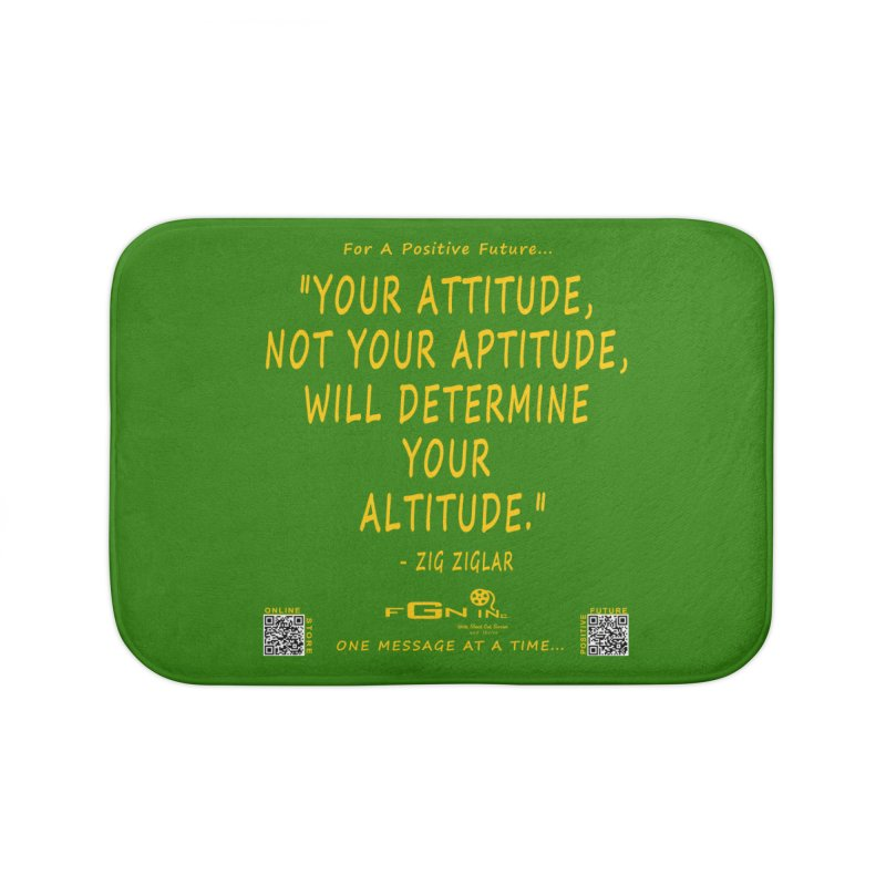 694B - Your Attitude Aptitude Altitude Home Bath Mat by FGN Inc. Online Shop