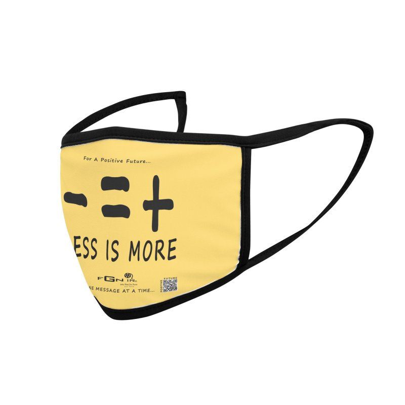 695 - Less Is More Accessories Face Mask by FGN Inc. Online Shop