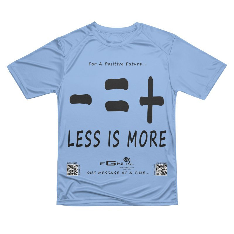 695 - Less Is More Men's T-Shirt by FGN Inc. Online Shop