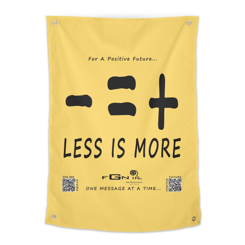 695 - Less Is More Home Tapestry by FGN Inc. Online Shop