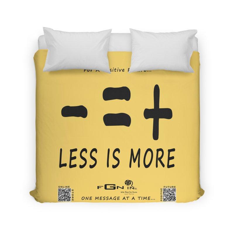 695 - Less Is More Home Duvet by FGN Inc. Online Shop
