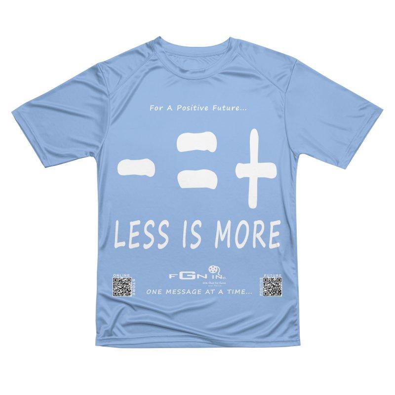 695A - Less Is More Men's T-Shirt by FGN Inc. Online Shop