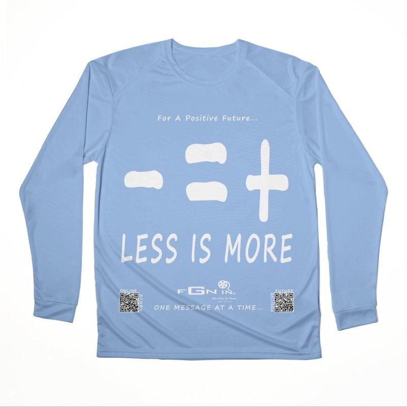695A - Less Is More Women's Longsleeve T-Shirt by FGN Inc. Online Shop