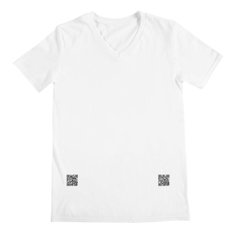 695A - Less Is More Men's V-Neck by FGN Inc. Online Shop
