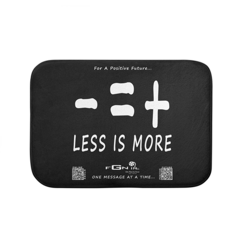 695A - Less Is More Home Bath Mat by FGN Inc. Online Shop