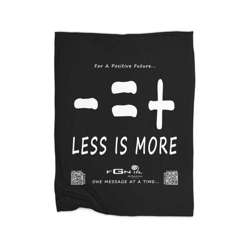 695A - Less Is More Home Blanket by FGN Inc. Online Shop